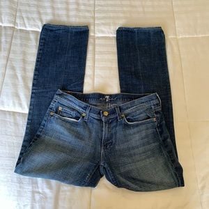 7 For All Mankind Bootcut Skinny Jeans